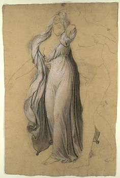 Drapery Study for 'Castor and Pollux Freeing Helen'
