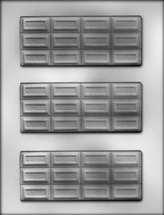 Break-Apart Bar Chocolate Mold CK Products http://www.amazon.com/dp/B003QP3HUG/ref=cm_sw_r_pi_dp_ljXbvb1FEK3F7