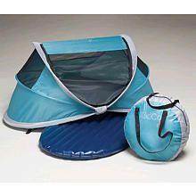 Kidco Peapid Indoor/Outdoor Travel Bed - Ocean (BabiesRus $58.49) Baby camping gear!