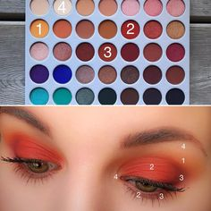 Matte of Fire Lidschatten Morphe Pinsel X Jackie Hill Palette Creamscicle al … – … - Makeup Tutorial African American Jaclyn Hill Palette, Jaclyn Hill Eyeshadow Palette, Morphe Palette, Jacklyn Hill Palette Looks, Make Up Palette, Pallette, Makeup Goals, Makeup Inspo, Makeup Inspiration