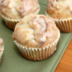 Glazed Doughnut Muffins Recipe*Goodness,..did not need to see this,...