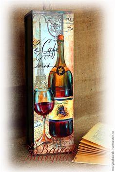 "Короб для вина ""Le Cafe Paris"""