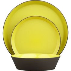 Grass Roots Chartreuse Dinnerware Collection