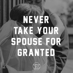 I think we often take our spouse for granted. Most of the time, it's unintentional. We forget about all of their amazing qualities and things they do to help us out. But this can be dangerous for a marriage. No one wants to feel unappreciated. None of us want to make our spouse feel unimportant. In order to appreciate your spouse, you have to tell them with your words and show by your actions that you really do love and appreciate who they are.