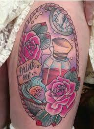 """Résultat de recherche d'images pour """"eat me drink me tattoo"""""""