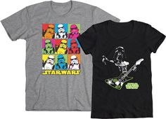 It's WE LOVE FINE WEDNESDAY! And we love our Star Wars Celebration designs!  Repin this post and you are entered into our drawing to WIN one of these two designs, created especially for our big bags at Star Wars Celebration this year and now available in rockin' shirt form. Mens and womens sizes available!  Repin and WIN!!