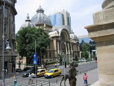 CEC Palace #Bucharest #Romania #architecture