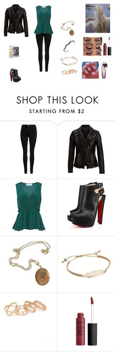 """""""The Hale Twins #26"""" by jazmine-bowman ❤ liked on Polyvore featuring Dr. Denim, SELECTED, Prabal Gurung, Cullen, Kendra Scott and With Love From CA"""