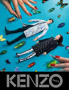 Kenzo Embraces Fantasy for Fall 2013 Campaign with Rinko Kikuchi | Fashion Gone Rogue: The Latest in Editorials and Campaigns