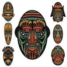 Resultat d'imatges de mascaras africanas