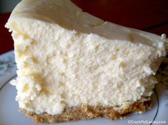 Crock-Pot Cheesecake