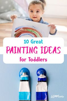 That's why it's so fun to do crafts with them. Craft Projects For Kids, Easy Crafts For Kids, Creative Crafts, Craft Ideas, Easy Toddler Crafts, Toddler Gifts, Fun Activities For Kids, Art Activities, Finger Painting For Toddlers
