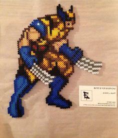 X Men Wolverine Perler Bead Sprite