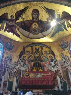 "Varvara"" - Brad, Fresca, by Catalin Balut Religious Paintings, Religious Art, Church Interior, Byzantine Icons, Orthodox Icons, Mural Painting, Sacred Art, Altar, Catholic"