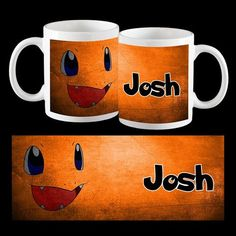 Charmander Art, Pokemon Go Personalised Coffee Mug