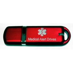 Medical Alert USB Flash Drive Pendant: Health & Personal Care. Keep on your person to provide all your medical information for emergencies. More important for when medical care is so comprehensive or if your care is extensive: medications, illness, surgeries, supplements, allergies, vaccinations, histories, etc. Could save your life. A good gift too.