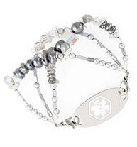 On the Plaza Medical ID Bracelet | Lauren's Hope