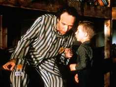 'Life Is Beautiful' (1997)  Nothing's more powerful than the love between a parent and a child. In this heartbreaking Italian film, a father (Roberto Benigni) makes an unbelievable sacrifice for his 4-year-old son (played by Giorgio Cantarini): imprisoned in a Nazi concentration camp in 1945, the Jewish man convinces his boy that they are playing an elaborate game.