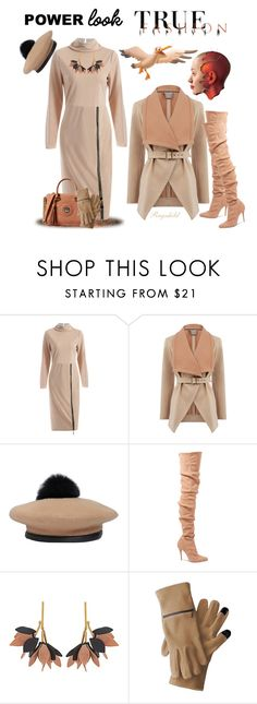 """""""My Signature Power Look"""" by ragnh-mjos ❤ liked on Polyvore featuring Oasis, Eugenia Kim, Balmain, Marni, contest, outfit, powerlook and Fereti"""