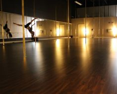 Pole Dance and Fitness Studio - Mississauga Ontario - wonderful clean working space, soft lighting Pole Classes, Fitness Studio, Dance Studio, Lounge Areas, Pole Dancing, Dream Big, Ontario, Storage Spaces, Studio Ideas