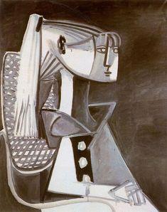 Pablo Picasso - Portrait of Sylvette David, 1954