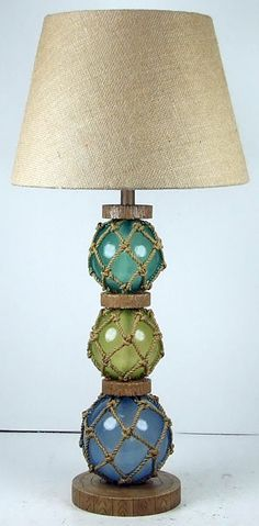 Glass Float Lamp | OceanStyles.com  I am so in love!