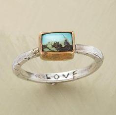 Ring from the Sundance catalog..
