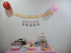 My Dessert table