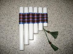 My homemade pentatonic pan flute  always surprises  those I play it for because it has a lovely  tone  (better than my purchased bamboo one...