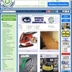 """In één oogopslag….…. Zoek je machines of gereedschappen? Op Koopplein Midden-Drenthe staan nieuwe en gebruikte machines en gereedschappen. Als je """"grote foto's"""" aanklikt zie je in één oogopslag een fotopresentatie van het aanbod op je eigen lokale Koopplein. Hoe je dat doet?  https://www.facebook.com/photo.php?fbid=636991813016688&set=a.138182569564284.24905.128963603819514&type=1&theater"""