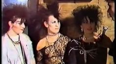 THE HEIGHT OF GOTH: 1984: A Night at the Xclusiv Nightclub: Batley, West Yorkshire UK, via YouTube.