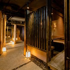 Zenkichi Berlin delivers an authentic Japanese experience with Brooklyn hospitality know-how Japanese Restaurant Interior, Japanese Interior, Restaurant Interior Design, Japanese Design, Spa Design, Cafe Design, Spa Interior, Interior And Exterior, Deco Spa