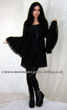 Gothkitty Mini Dress by Moonmaiden Gothic Clothing UK