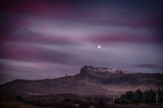 Moonset, Isle of Skye