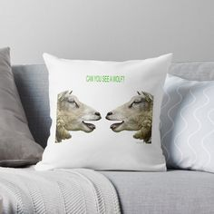 'Fun T Shirts - Sheep' Throw Pillow by Designer Throw Pillows, Pillow Design, Cool T Shirts, Sheep, Classic T Shirts, Bedding, My Arts, Art Prints, Printed