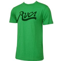 #RVCA Mens Shirt Field Kelly Green