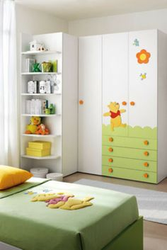 Composiciones para cuarto de beb s miele cunas muebles for Cuarto winnie pooh