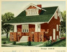 From a house plan catalog put out by Central Lumber in 1920.