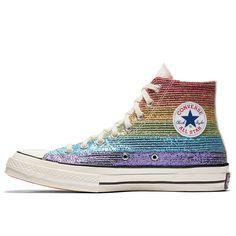 Converse Pride x Miley Cyrus Chuck 70 High Top in Multi White Black  1759b59640b62