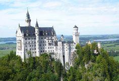 Bayern Mit Seinen Schlossern Ein Reise Wert Schloss Neuschwanstein Burgen Und Schlosser Neuschwanstein