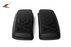 RS hard saddlebag lids skull design for touring 2014 Image