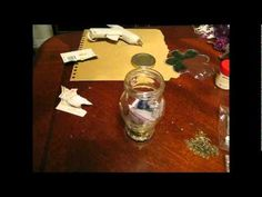 Crafting A Witch's Spell Bottle (Jar) for Prosperity - something like that...