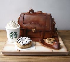 Starbucks Cake  The 30 Most Awesome Themed Cakes Will Completely Amaze You • Page 4 of 6 • BoredBug