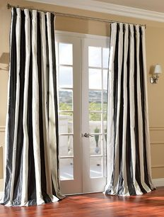 Rochester Silk Curtains & Drapes | Discount Window Curtains And Draperies - Half Price Drapes