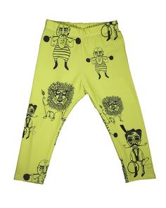 Chartreuse Carnival Skinny Leggings, Salt City Emporium. The bright chartreuse color and fun designs are perfect for spring. -Christine, Ahoy Tees #ahoysfavoritethings