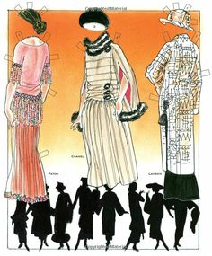COUTURE: The Many Faces of the 1920s Paper Doll Book: Jim Howard, Paper Dolls, David Wolfe: 9781935223696: Amazon.com: Books