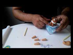 ITACY MORENO - Lembrancinha Sven (Frozen) - YouTube