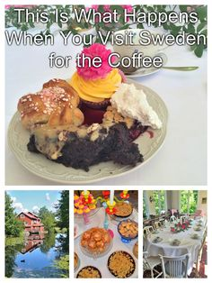 Coffee in the United States has become somewhat of a rush-about pop culture. In Sweden, it's just the opposite. It's called Fika.  http://luggageandlipstick.com/swedish-fika/
