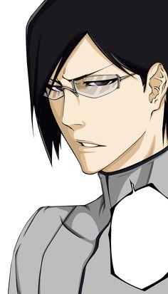 Ishida Uryuu after the time skip.  He wonders why anyone would think he and Ichigo are alike.