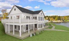 amerikansk veranda | Den Vita Drömgården: Amerikansk ostkust arkitektur på…